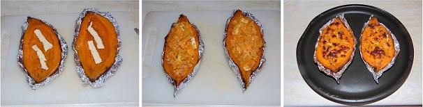 patate dolci al cartoccio