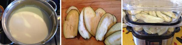 sformato di pasta e melanzane proc 2