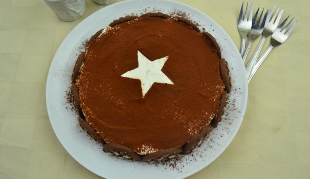 torta pan di stelle foto fine procediemento