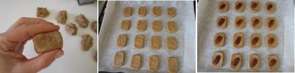 Biscotti agli anacardi con noci pecan veloci