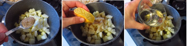 Biscotti con cuore di mela ad olio