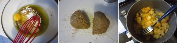 Biscotti con cuore di mela profumati
