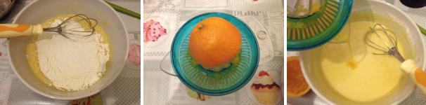 frittelle di carnevale all'arancia proc 2