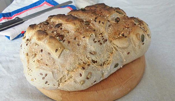 pane con lievito madre con bimby