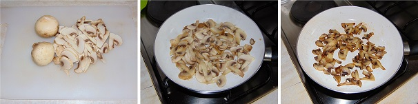 salsa di funghi primo piattoi