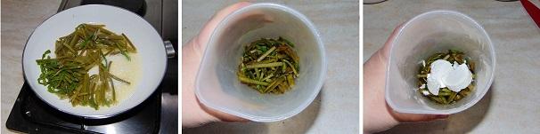 crema di asparagi e caprino ricetta veloce