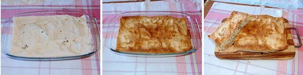 torta salata con pollo e fagioli preparazione