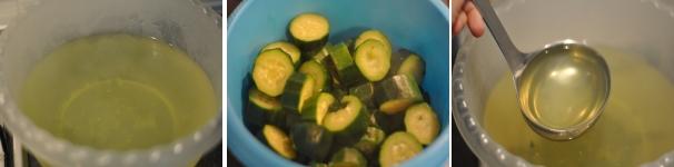 Vellutata di zucchine e pancetta croccante ricetta passo a passo