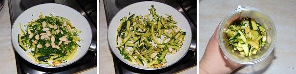 salsa di zucchine e mandorle facile e veloce