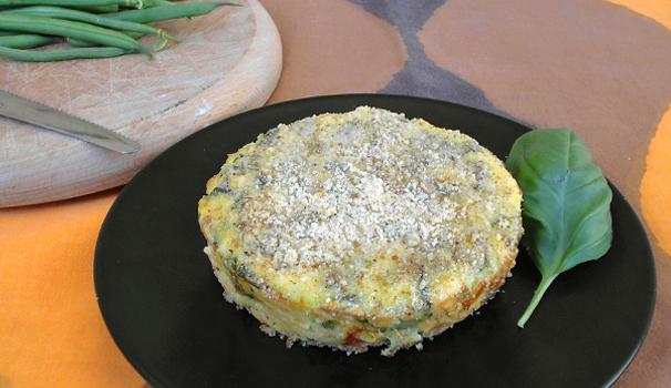 tortino-di-fagiolini-e-patate-fine-procedimento