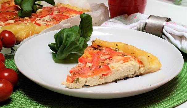 torta salata in padella