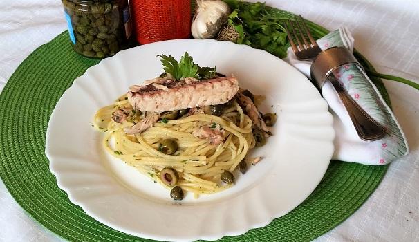 spaghetti al verde.