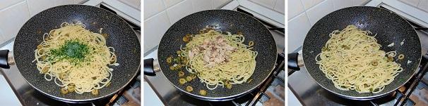 spaghetti estivi medierraneo ricetta facile