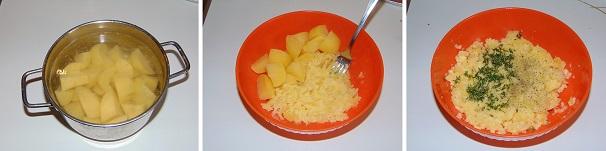 crosta di patate facile, veloce