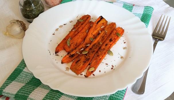 carote arrosto al cumino