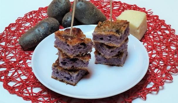 focaccia di patate viola