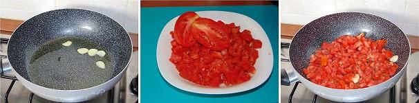 melanzane al sugo di pomodoro fresco