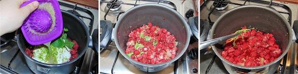marmellata di lamponi freschi facile
