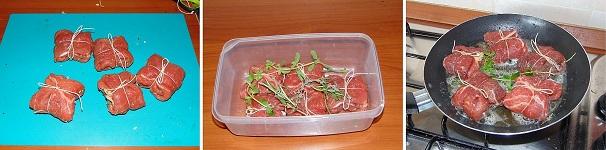 scaloppa di vitello con speck e formaggi veloce