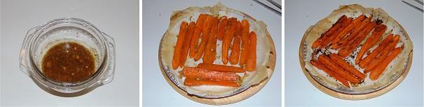 carote arrosto contorno veloce e facile