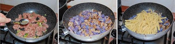 salsiccia e cavolfiore veloce sugo per pasta secondo piatto