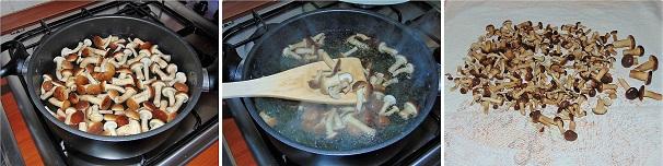 pioppini funghi sott'olio conserva