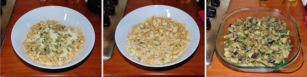 crumble salato con grissini e formaggio croccante veloce facile