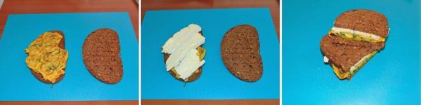 sandwich zucchine e brie