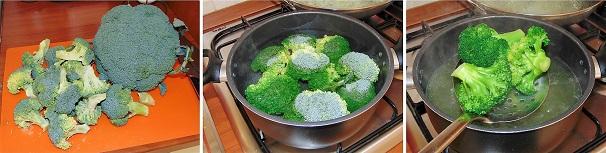 contorno veloce con broccoli verdi saltati facili