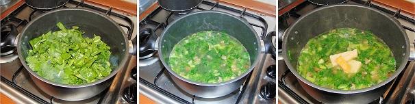 erbette, coste, bietoline minestra veloce, zuppa facile