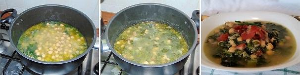 zupa minestra con ceci veloce