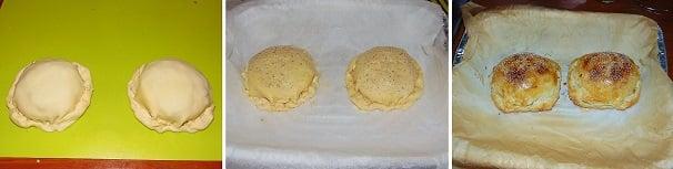sfoglia con formaggio e funghi facile secondo piatto antipato caldo monoporzione
