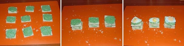millefoglie salata leggera antipasto