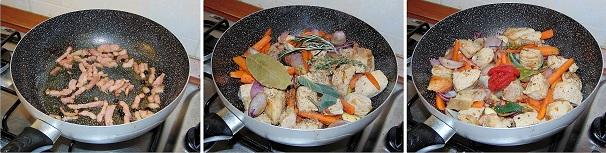 stufato pancetta affumicata preparazione ricetta inverno polenta cena amici