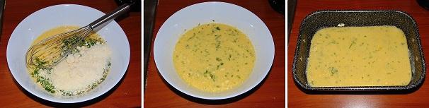 uova intere parmigiano frittata forno veloce economica