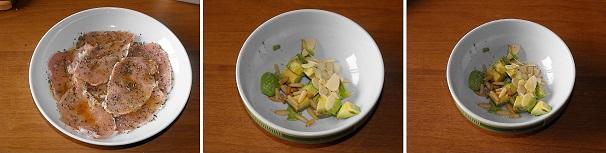 aocado insalata frutta secca veloce