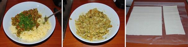 farcia samosa piatto indiano street food fatto in casa