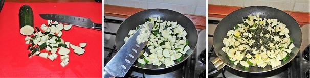 zucchine stufate veloci saporite aromatiche