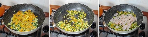 fiori di zucca e zucchine risotto