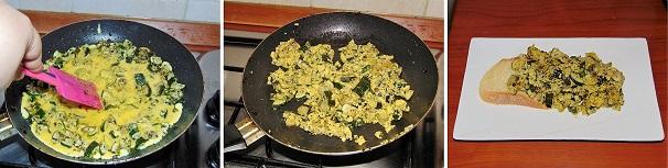 zucchine con uova strapazzate scramble eggs zucchini stuffed recipe