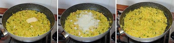 risotto alla milanese con verdure goloso gamberi fiori di zucca primo piatto